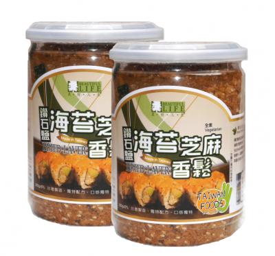 《美好人生》鑽石鹽海苔芝麻香鬆(280g)/2罐組