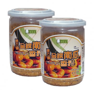 《美好人生》鑽石鹽金饌南瓜香鬆(280g)/2罐組
