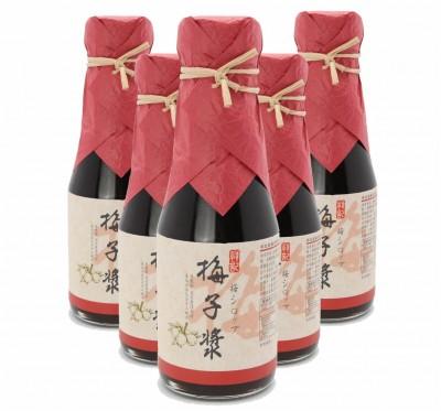 《祥記》梅子漿/6入組(含梅子果肉/150ml/瓶)
