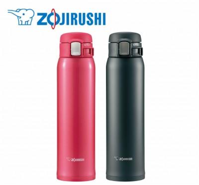 【ZOJIRUSHI】象印 超輕量OneTouch 不鏽鋼真空保溫杯(600ml) SM-SA60-超輕量美學