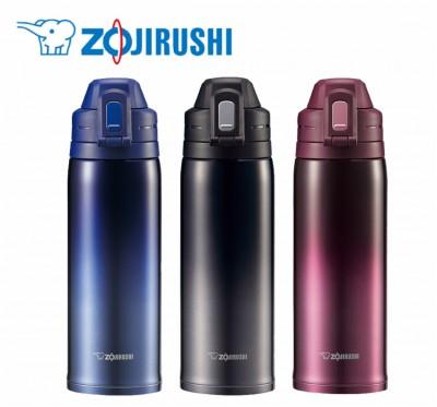 【ZOJIRUSHI】象印 0.82L SLiT運動型不鏽鋼真空保冷瓶 SD-ES08-超輕量運動瓶