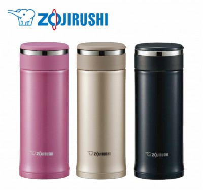 【ZOJIRUSHI】象印 360ml可分解杯蓋 不鏽鋼真空保溫杯 SMJ-D36