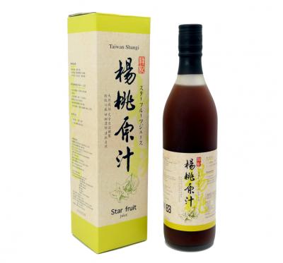 《祥記》天然楊桃原汁(600ml/瓶)