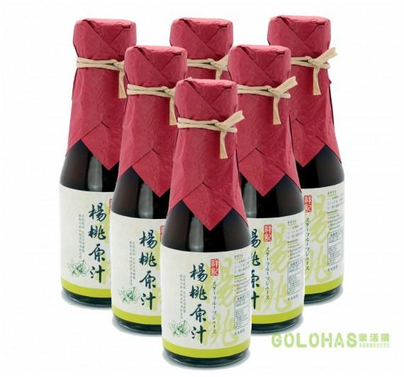 《祥記》天然楊桃原汁/6瓶入(150ml/瓶)