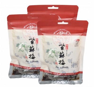 《祥記》陳年釀造紫蘇梅袋裝/3袋裝(220g/袋)