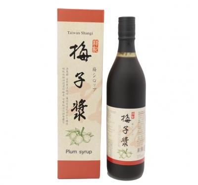 《祥記》梅子漿(含梅子果肉/600ml/瓶)