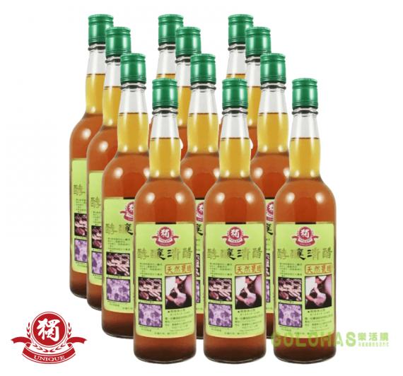 《獨一社》酵釀清醋(600ml/瓶)/12瓶裝