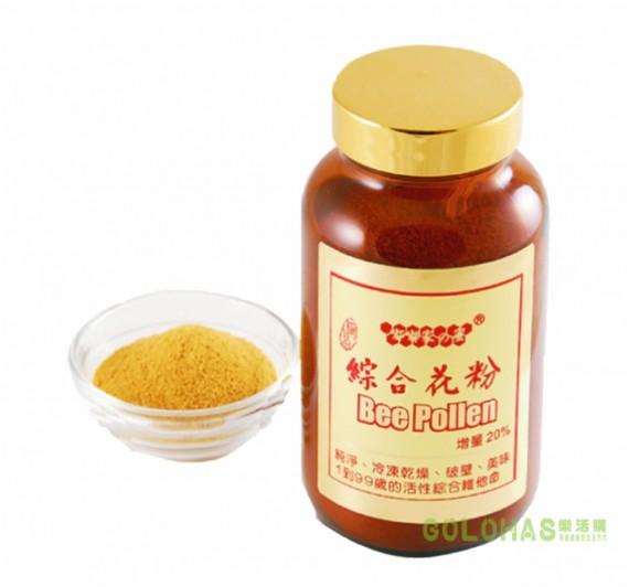 《嘟嘟家蜂蜜》四季綜合蜂花粉 (180g/瓶)