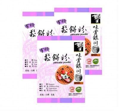 《銀川》有機糙米鬆餅粉3包組 (300g/包)