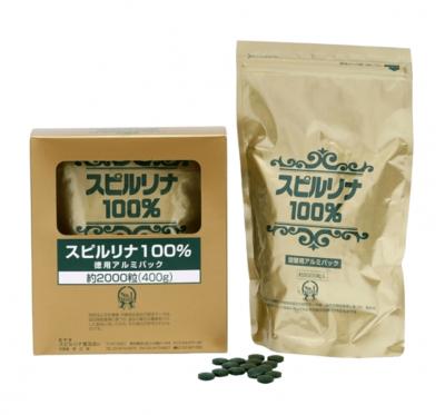 【會昌】Japan Algae 100%螺旋藻錠(2000錠/盒)