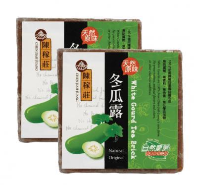 【陳稼莊】冬瓜露(冬瓜茶磚)(400g/塊)/2塊組