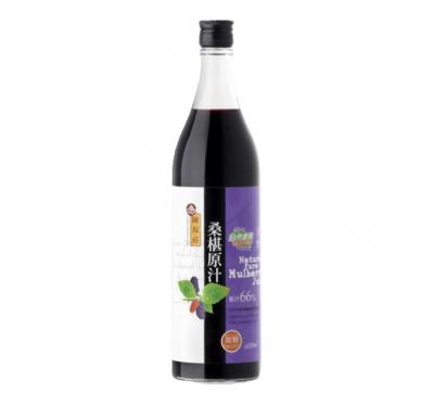 【陳稼莊】桑椹原汁-加糖(600ml/瓶)