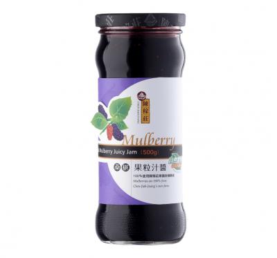 【陳稼莊】桑椹果粒汁醬(500ml/瓶)