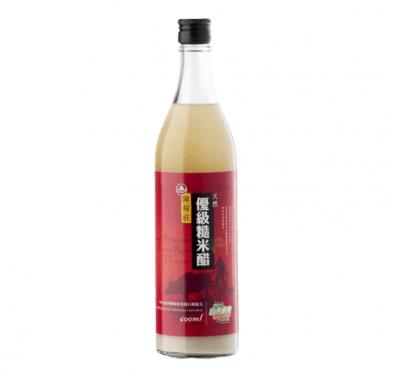 【陳稼莊】優級糙米醋(600ml/瓶)