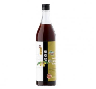 【陳稼莊】橄欖醋-加糖(600ml/瓶)
