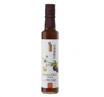 【陳稼莊】百香果原汁-加糖(250ml/瓶)