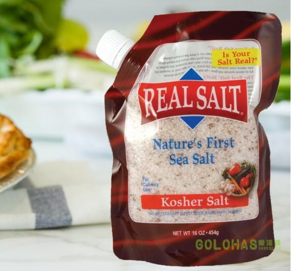 【REASL SALT】鑽石鹽 頂級天然海鹽454g (中鹽/袋裝)