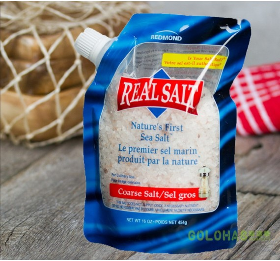 【REASL SALT】鑽石鹽 頂級天然海鹽454g (粗鹽/袋裝)