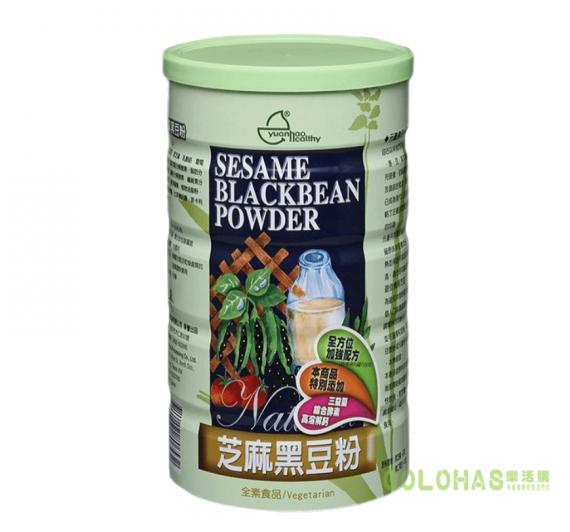 【元豪】芝麻黑豆粉(600g/罐)