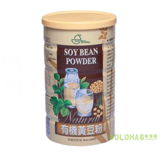 【元豪】有機黃豆粉(600g/罐)