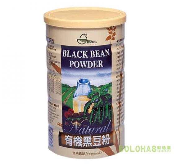 【元豪】有機黑豆粉(600g/罐)
