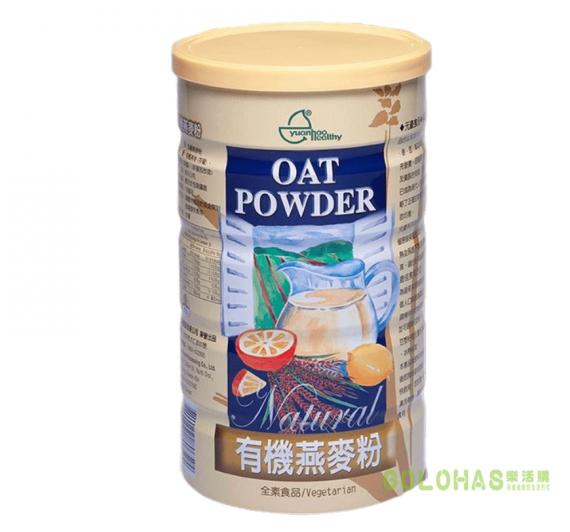 【元豪】有機燕麥粉(600g/罐)