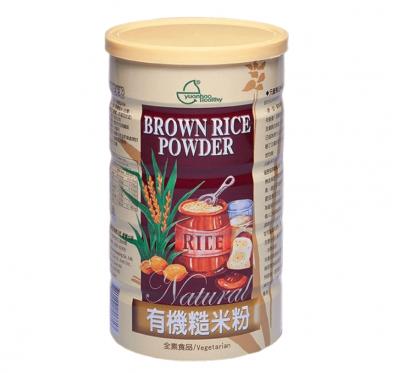 【元豪】有機糙米粉(600g/罐)