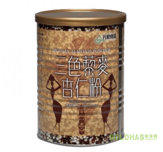 【元豪】三色藜麥杏仁粉(400g/罐)