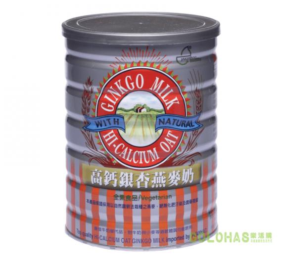 【元豪】高鈣銀杏燕麥奶(850g/罐)