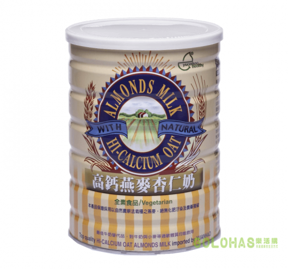 【元豪】高鈣燕麥杏仁奶(850g/罐)