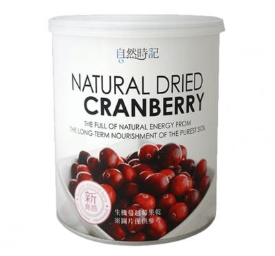【自然時記】蔓越莓乾/剖半(380g/罐)