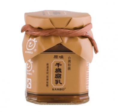 【KAMBO】桃米泉原味千歲腐乳(220g/罐)