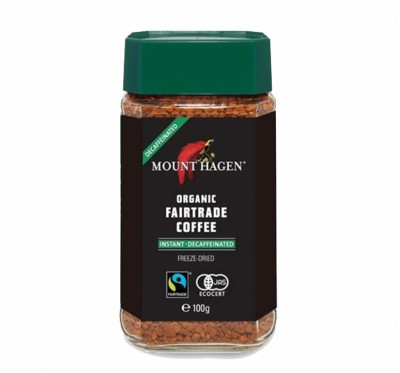 《DROKO》MOUNT HAGEN 德國有機無咖啡因即溶高山咖啡(100g/瓶)/2瓶組