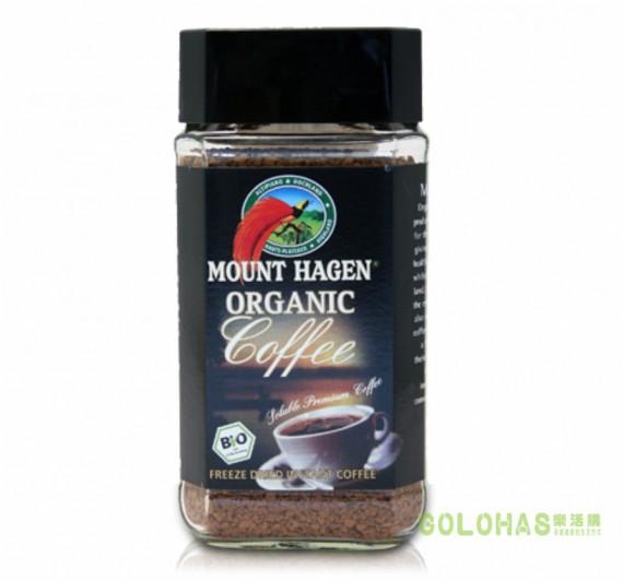 《DROKO》MOUNT HAGEN 德國有機即溶高山咖啡(100g/瓶)/2瓶組