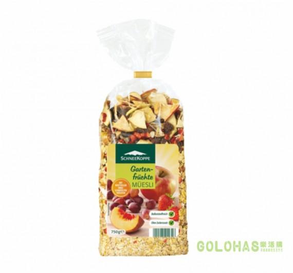 《DROKO》Schneekoppe 莊園精選全穀類早餐水果麥片(750g/包)/2包組