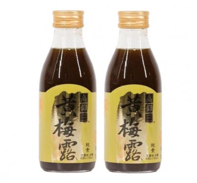 【高仰三】黃梅露(180ml/瓶)/2瓶組