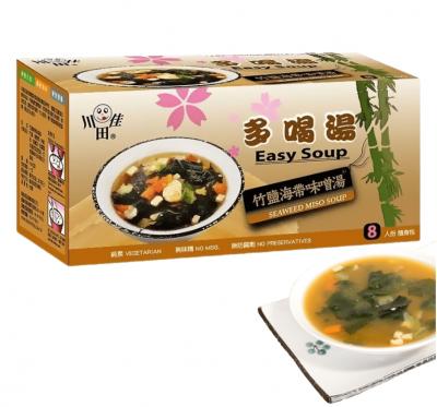 【川田佳】多喝湯竹鹽海帶味噌湯(12.5gx8包/盒)