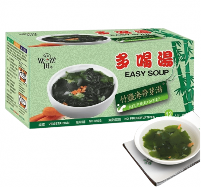 【川田佳】多喝湯竹鹽海帶芽湯(5.5gx12包/盒)