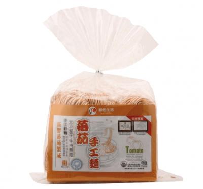 【綠色生活】生機蕃茄手工麵條(600g/包)