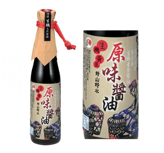 【綠色生活】生機原味醬油(420ml/瓶)