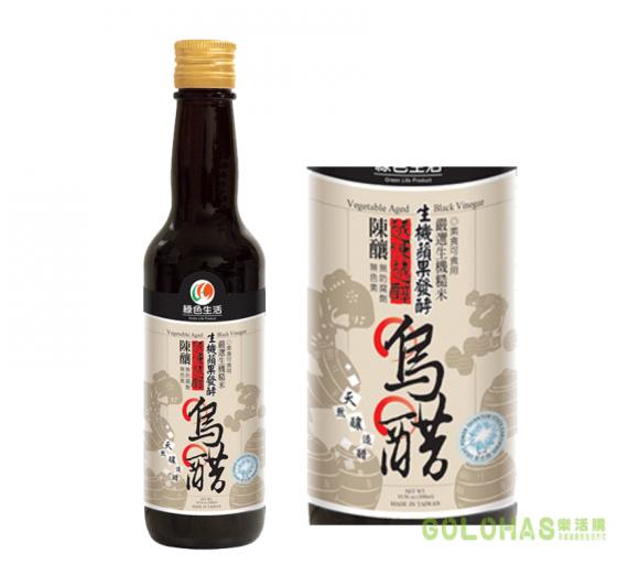 【綠色生活】素食烏醋(300ml/瓶)