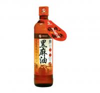 【綠色生活】頂級冷壓黑麻油(380ml/瓶)
