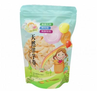 【愛天然】天然洋芋卷(50g/包)/20包組(純素食)