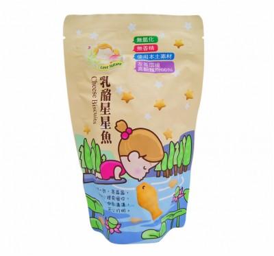 【愛天然】乳酪星星魚(140g/包)/20包組(純素食)