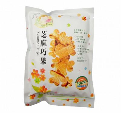 【愛天然】芝麻巧果(180g/包)/20包組(純素食)