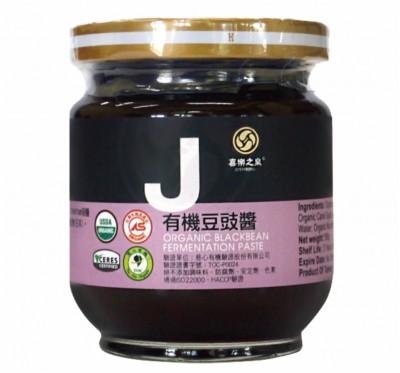 【喜樂之泉】有機豆鼓醬(180g/瓶)/5瓶組