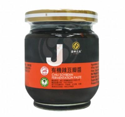 【喜樂之泉】有機辣豆瓣醬(180g/瓶)/5瓶組
