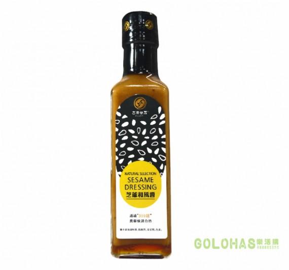 【喜樂之泉】喜樂甘露芝蔴和風醬(210ml/瓶)/5瓶組