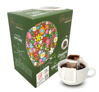 《美好人生》有機濾掛式-巴西咖啡-掛耳包(60g/盒)