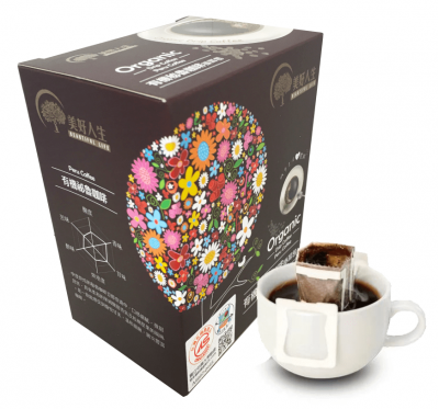 《美好人生》有機濾掛式-祕魯咖啡-掛耳包(60g/盒)